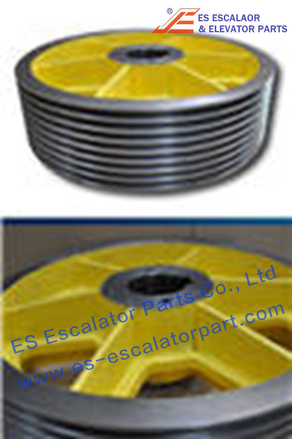 ESThyssenkrupp Traction Sheave 200159593
