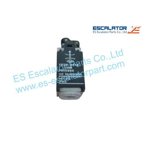 ESThyssenkrupp Escalator Part ZR231-02YR-1881 Switch and Board