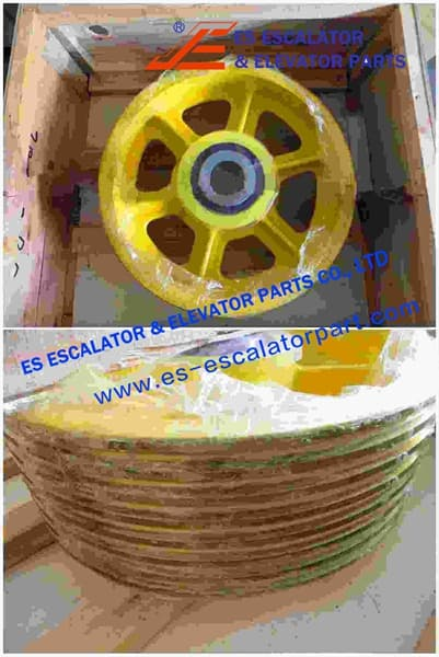 Rope Pulley Assy 200360822