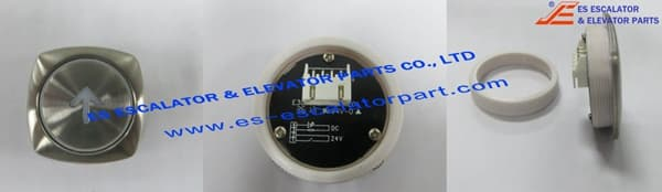 ESThyssenkrupp White Diamond Type Push button 200086371