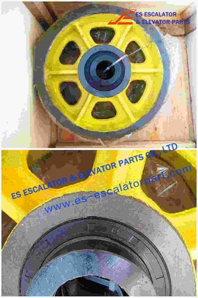 Rope Pulley Assy 200360808