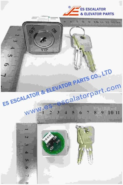 ESThyssenkrupp VIP Key Switch 200356012