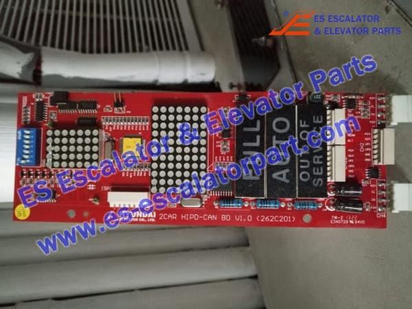 Hyundai Elevator Display Board 262C215