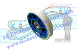Roller And Wheel DEE1972307