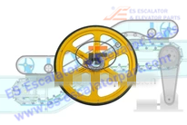 Roller And Wheel NEW XORO5121
