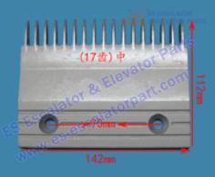 Escalator 22501789 Comb Plate