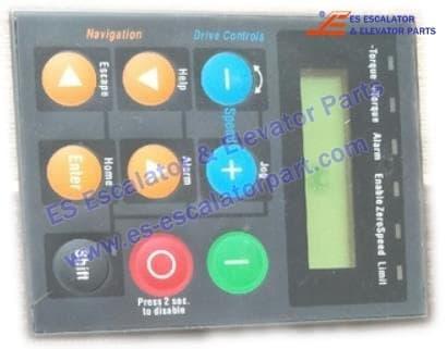 <b>ESSIEI inverter AVY series AVGL operation panel</b>