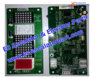 MCTC-HCB-F Hall Indicator PCB
