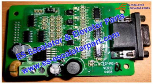 MCTC-PG-D Encoder PCB