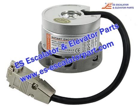 WETON Rotary Encoder EI58C9.25-2048-SA5N4TJ for Elevator