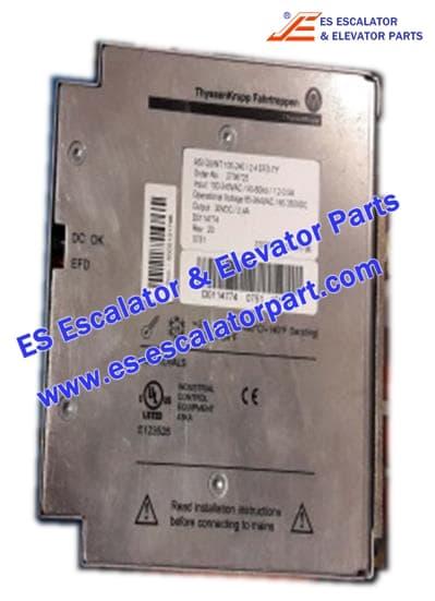 THYSSEN Escalator TUGELA 945 power supply 115-230V