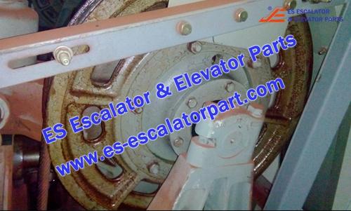 Elevator YA203B304-16 Traction wheel