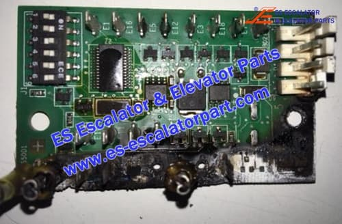 Escalator GHA610WJ1 PCB