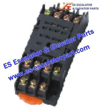 ESMitsubishi Elevator Parts SZX-SMF-14SN BASES OF RELAY