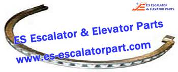 ESThyssenkrupp Escalator Parts 1737522602 Newell Roller Galvanized with bearings