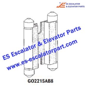 ESOTIS Elevator Parts GO2215AB8 Transition Guide