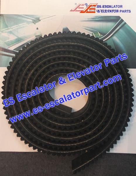 ESKONE Escalator Parts 12B0007 Belt L=2500*8*30