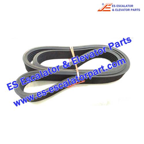 Escalator Parts V717AAA2 Handrail Drive Belt