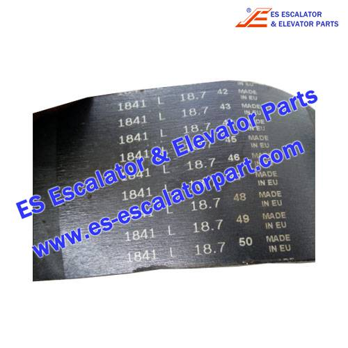 ESSchindler Escalator Parts PL1841 Handrail Pressure Belt