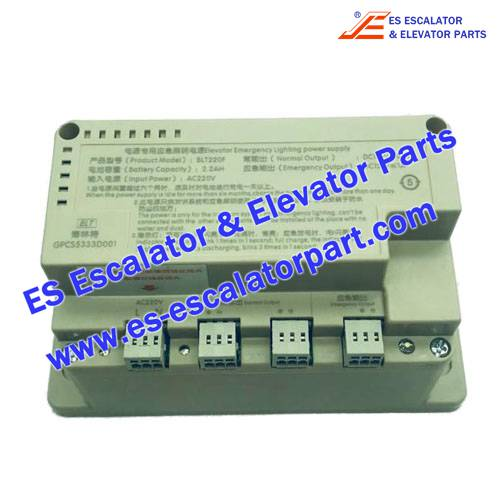 BLT Elevator GPCS5333D001 Power Supply