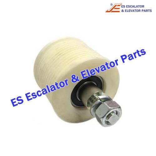 ESSchindler Escalator Parts SCH394014A Poly belt with bearing