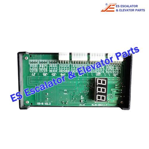 <b>Escalator XS-B Fault Display</b>