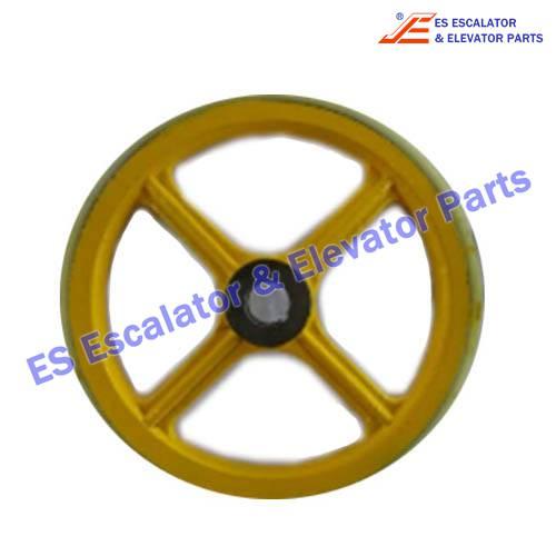Sigma Escalator Handrail Friction Wheel ASA00B046*C OD458mm*ID45mm