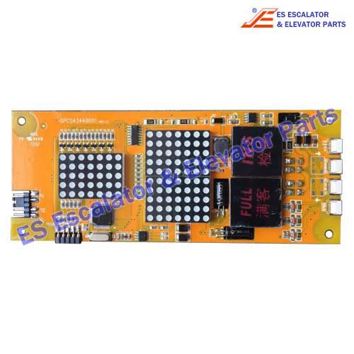 <b>ESBLT Elevator GPCS4344D001 PCB</b>