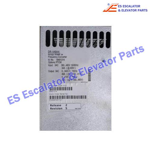 ESSchindler Escalator Parts DR-VAB44 Frequency Converter